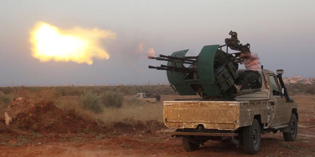 Wapenstilstand in twee regio's Syrië gesneuveld
