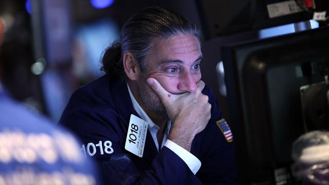 'Grootste uitstroom uit aandelenfondsen VS sinds 2014'