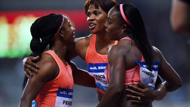 Zes atletes sneller dan Schippers op 100 meter in Eugene