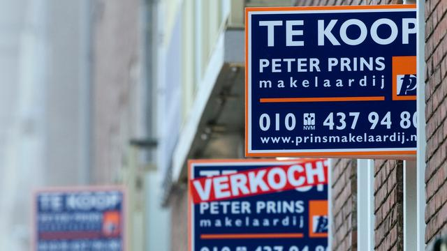 Koopwoningen 6 procent duurder in november