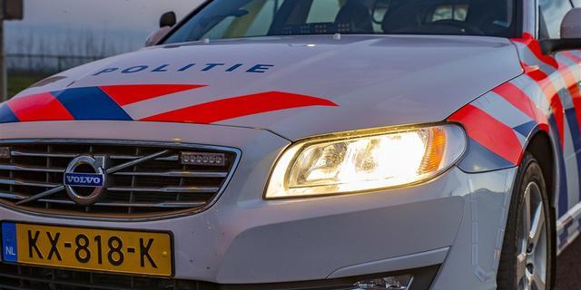 Bestuurder motorscooter gearresteerd na aanrijding in Leidsestraat