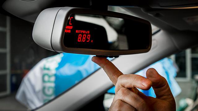 Taxichauffer aangehouden voor oplichting