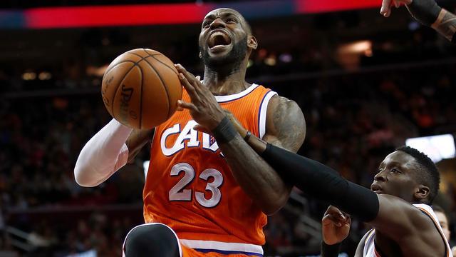 LeBron James doorbreekt grens van 20.000 punten voor Cavaliers
