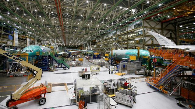 Boeing ontdekt tijdens test probleem bij nieuwe 777X-toestellen