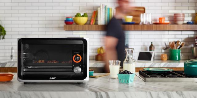 Slimme oven herkent eten en past bereidingsmethode aan