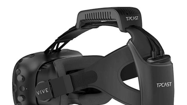VR-bril HTC Vive werkt draadloos met speciaal accessoire
