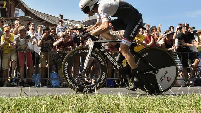 'Ontbreken Cancellara kost Mollema anderhalve minuut in ploegentijdrit'