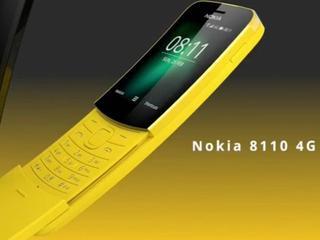 Nieuwe Nokia 8110 heeft 4G-ondersteuning