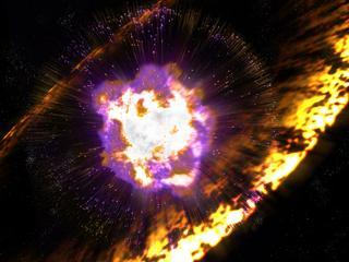 Supernova's bombardeerden aarde met radioactief puin