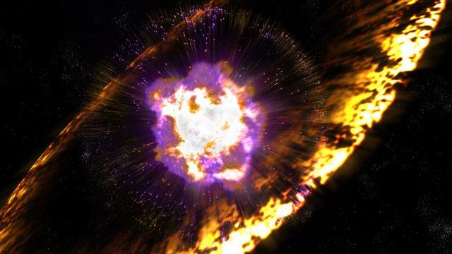 'Sporen van ontplofte sterren gevonden op aarde'