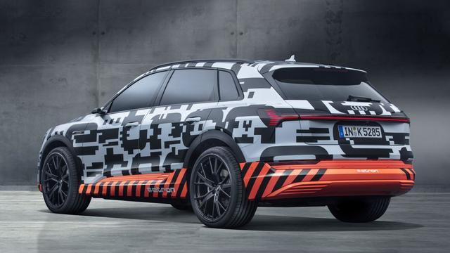 Audi toont E-Tron prototype