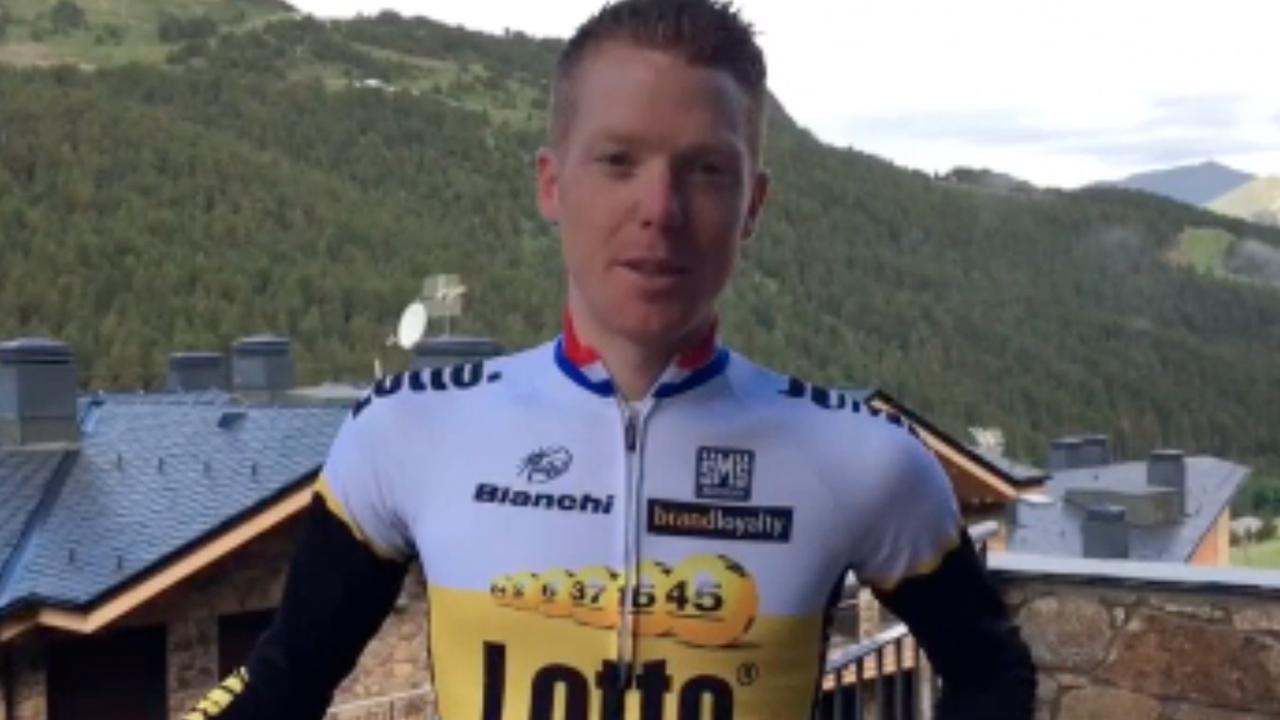 Steven Kruijswijk bevestigt nieuw contract bij Lotto-Jumbo