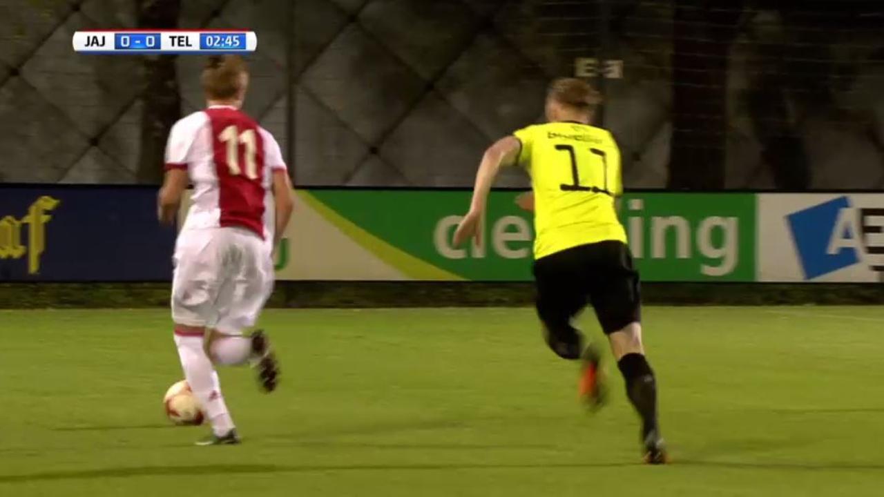 Samenvatting Jong Ajax - Telstar (1-1)