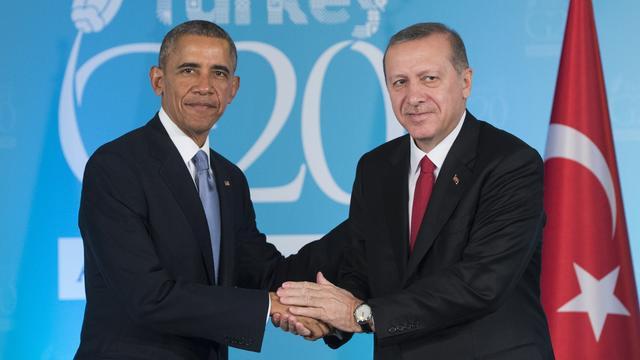 Obama en Erdogan ontmoeten elkaar op 4 september