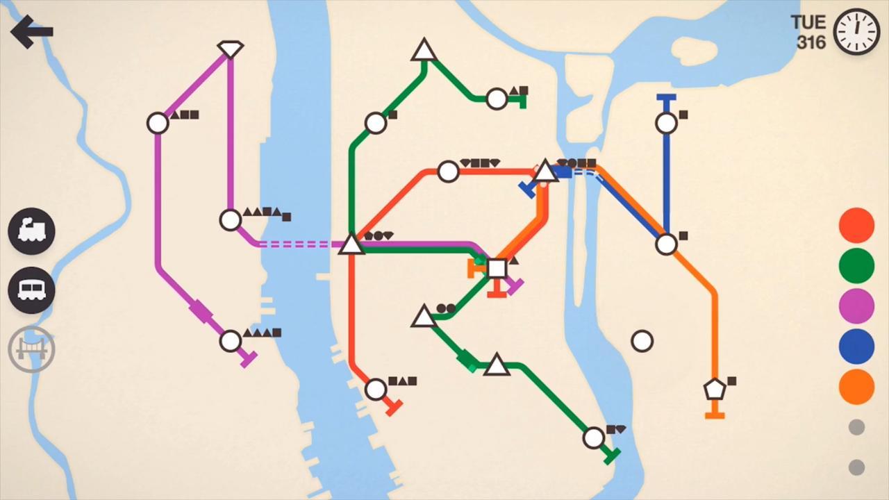 Mini Metro App Preview