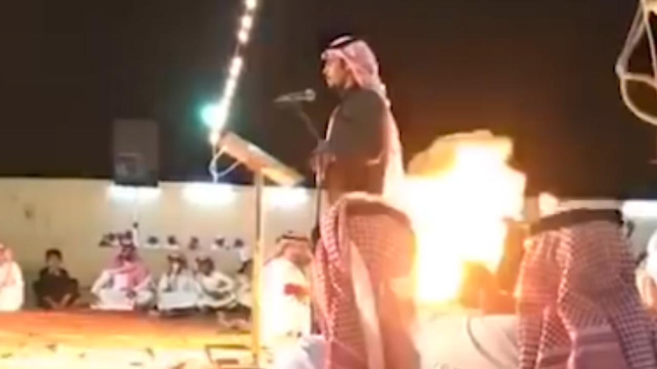 Man gooit per abuis sigaret in bak buskruit op Saoedische bruiloft