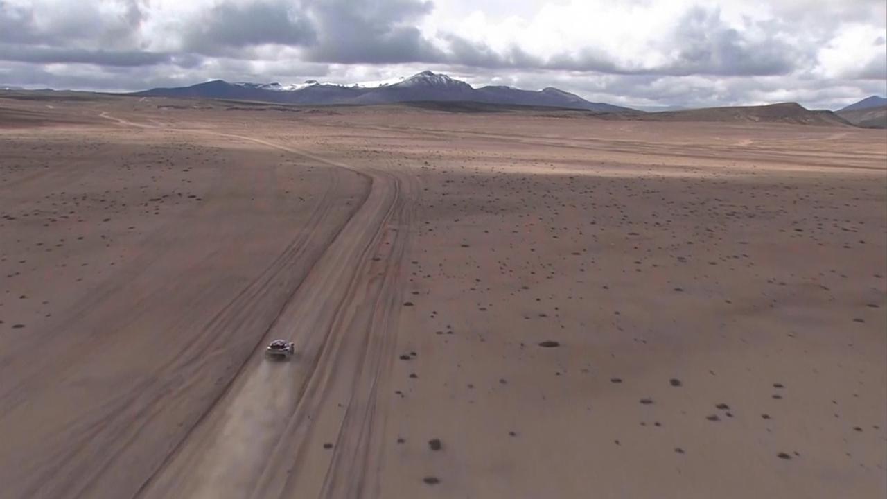 De mooiste beelden van etappe 5 in de Dakar Rally