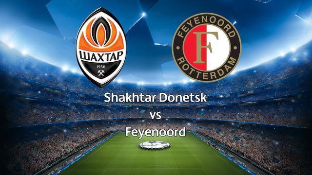 Livestream Champions League: Nabeschouwing Shakhtar-Feyenoord
