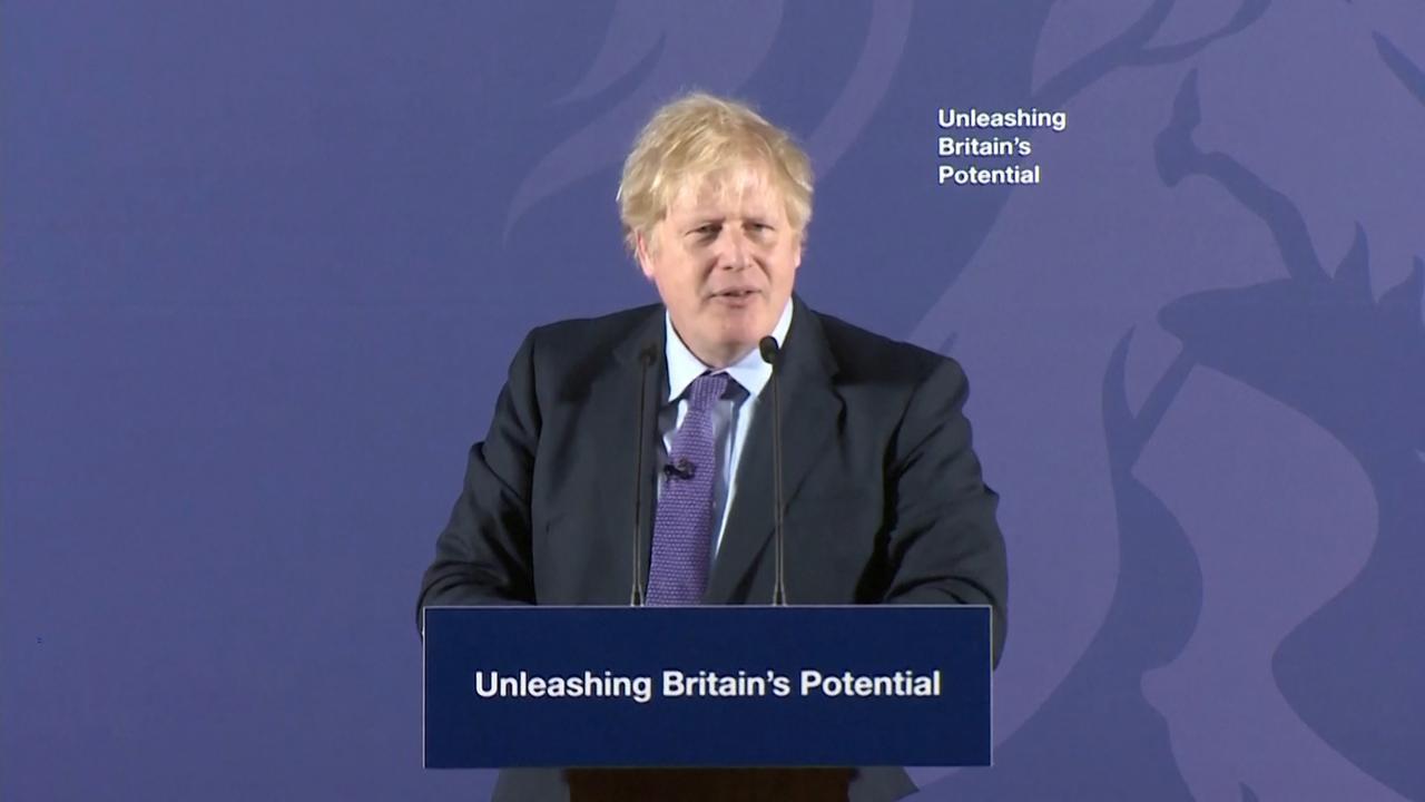 Boris Johnson onthult eerste plannen na Brexit