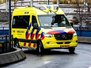 Fietser ernstig gewond bij aanrijding op Haagse Schouwweg in Leiden