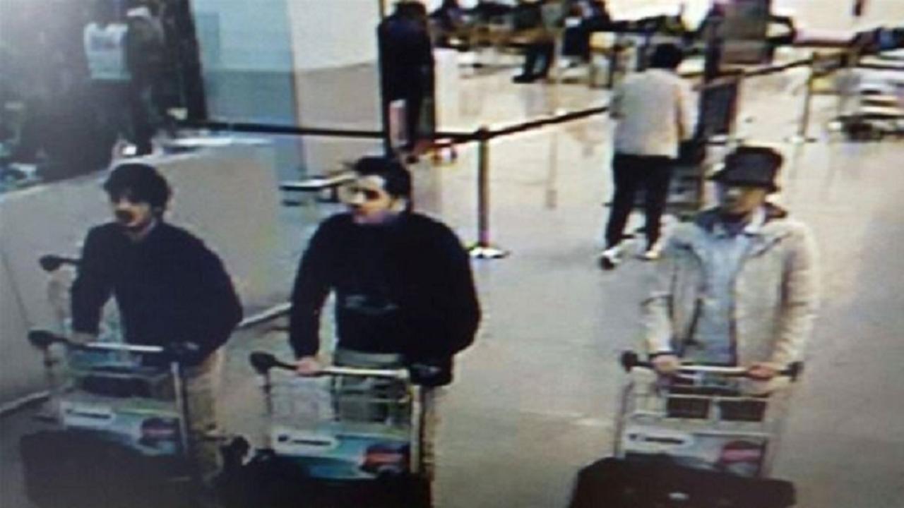 Beelden van ontsnapping derde verdachte aanslag Zaventem