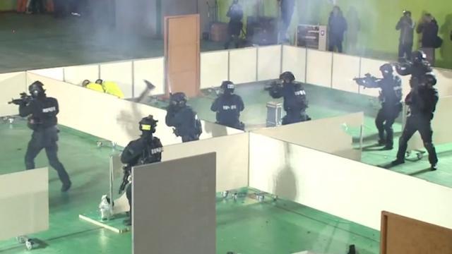 Zuid-Korea houdt gijzelingsoefening voor Spelen