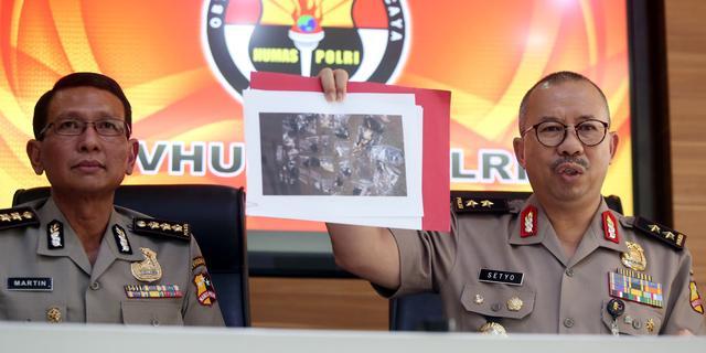 Politie linkt zelfmoordaanslagen Jakarta aan IS