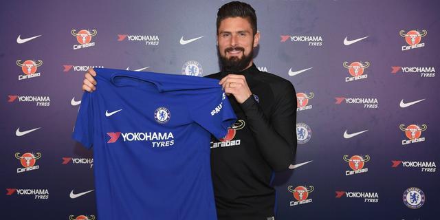 Chelsea neemt Giroud over van Arsenal, Lucas naar Spurs