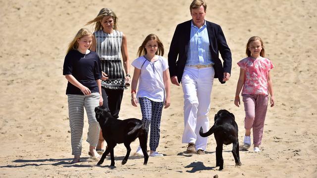 Koninklijke familie houdt jaarlijkse fotosessie