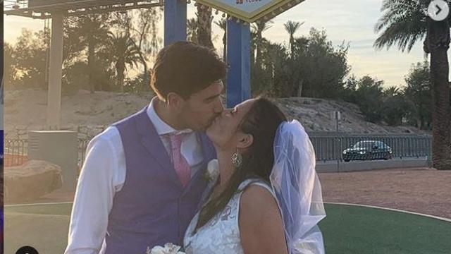FOX Sports-presentatrice Aletha Leidelmeijer getrouwd in Las Vegas