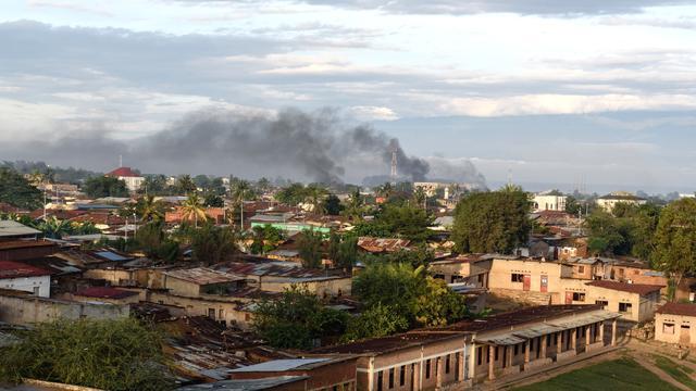 'Staatsgreep in Burundi afgeslagen'