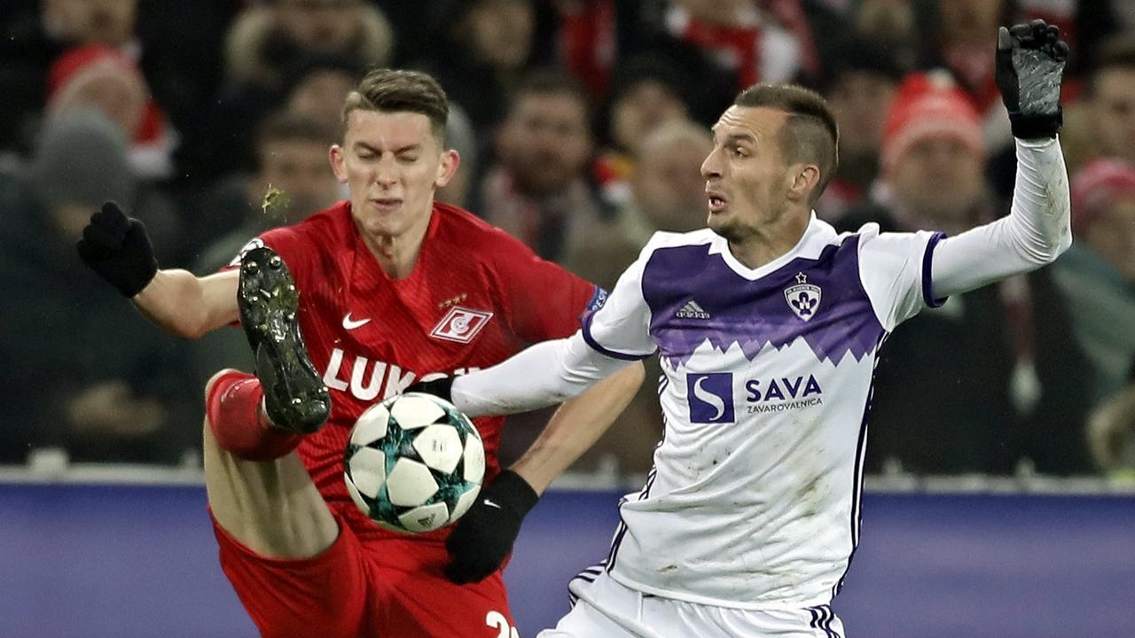 Samenvatting Spartak Moskou-NK Maribor (1-1)
