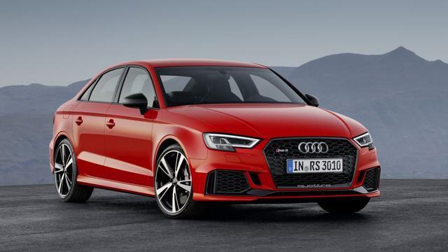 Audi presenteert de RS3 Sedan