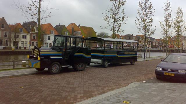 Treintje rijdt vanaf donderdag door het Alphense centrum