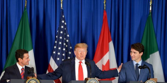 Trump ondertekent vervanger van NAFTA