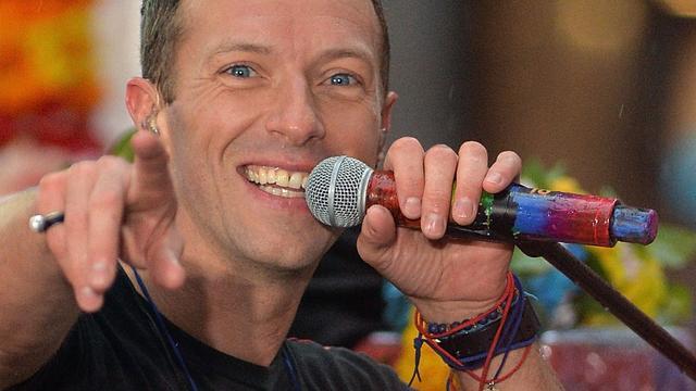 Coldplay te gast bij RTL Late Night
