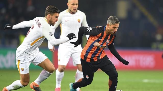Strootman lijdt met AS Roma kleine nederlaag bij Shakhtar