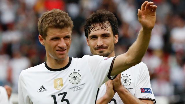 Thomas Müller is niet boos als hij niet scoort voor Duitsland