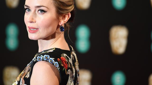 'Emily Blunt naast Dwayne Johnson te zien in Jungle Cruise'