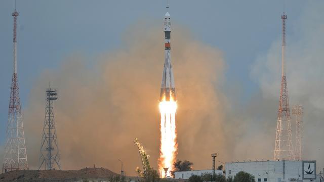 Astronauten ISS verliezen hitteschild