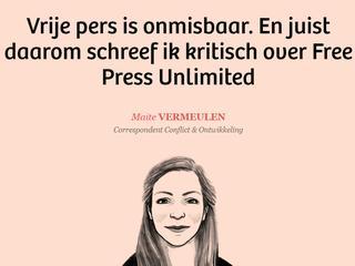 Online platform De Correspondent beschuldigt Free Press Unlimited van censuur