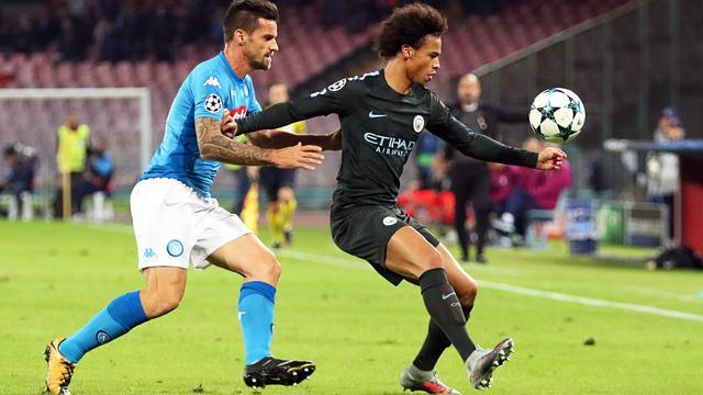 Samenvatting Napoli-Manchester City (2-4)