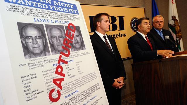 FBI bij aanhouding Bulger (2011)