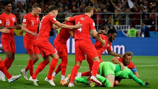 Engeland verslaat Colombia na strafschoppen en bereikt kwartfinales WK