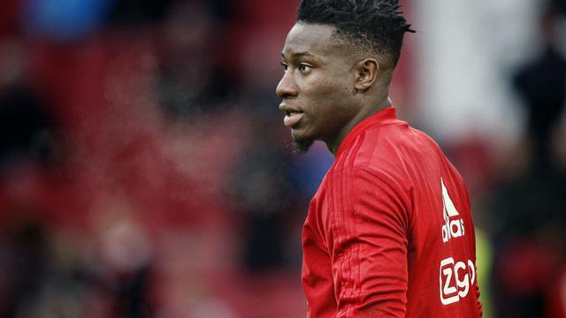 Ajax-doelman Onana valt af voor titel Afrikaans Voetballer van het Jaar
