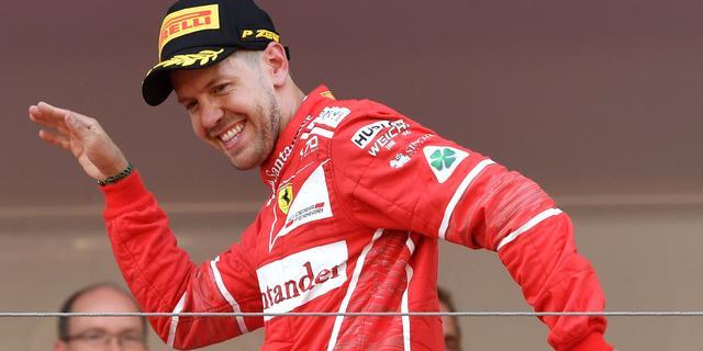 Vettel ontkent dat strategie voor zege in Monaco vooraf gepland was