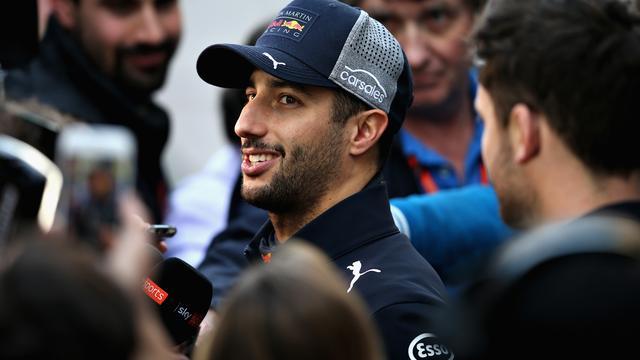 Ricciardo gematigd tevreden met officieus baanrecord op testdag