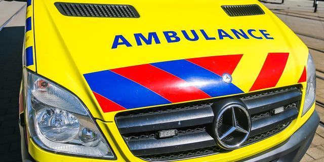 Gewonde na explosie met gasfles in tuin aan het Haagse Basketbalplein