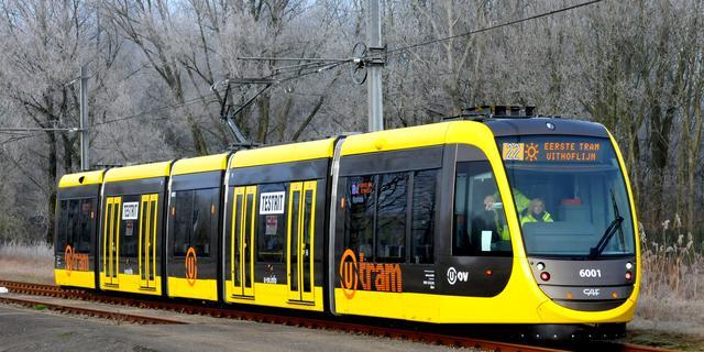 Trams Uithoflijn rijden weer, problemen door nieuwe wisselstoring voorbij