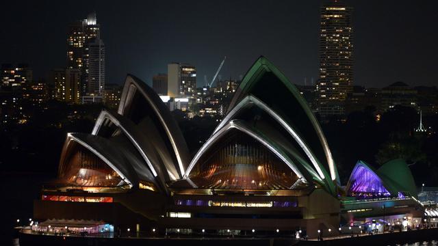 Sydney doet als eerste het licht uit voor Earth Hour